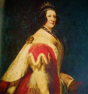 Anna_Maria_Duchess_of_Bedfordin court dress
