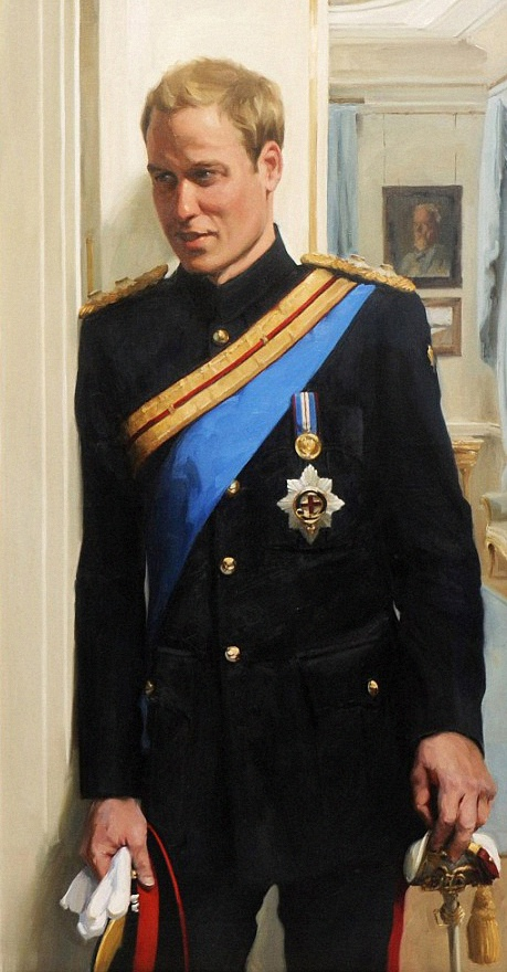 prince william portrait officiel